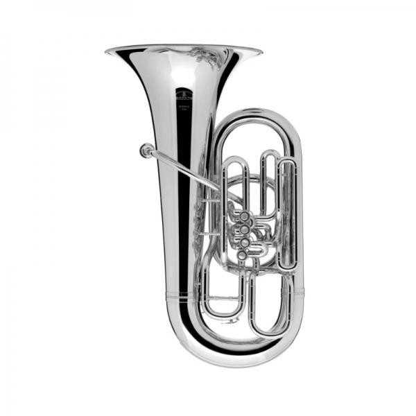 Besson sovereign Eb tuba 983 verzilverd